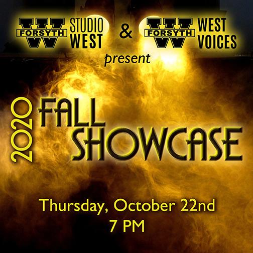 2020 Fall Showcase – Thursday, October 22 – 7pm