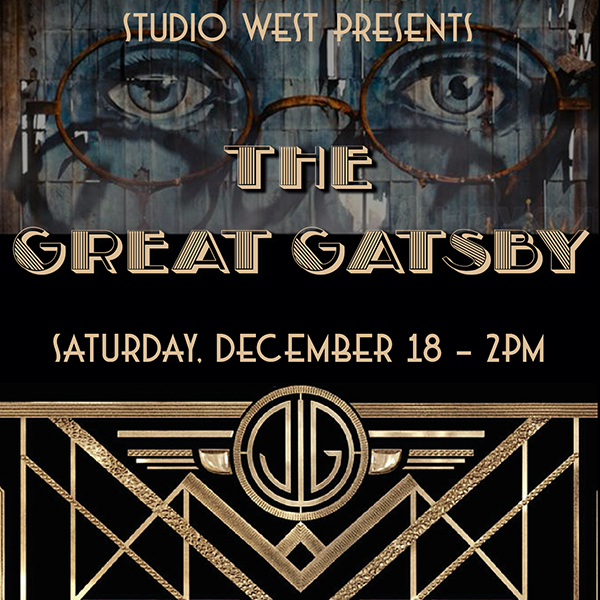 The Great Gatsby- Sat 12-18 – 2pm
