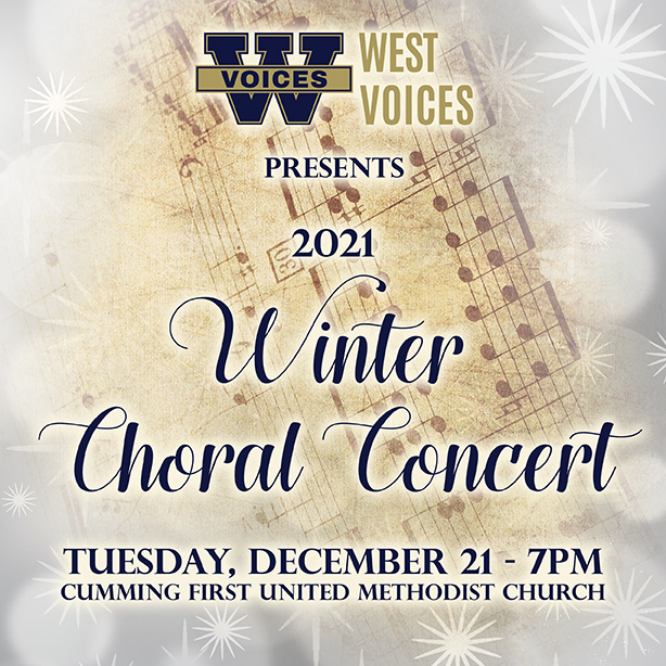 Winter Choral Concert- Tues 12-21 – 7pm