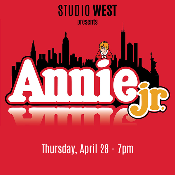 Annie Jr.- Thurs 4-28 – 7pm
